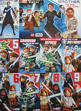 CHOICE OF LEGO STAR WARS FAMILY OR AGES OR GENERAL COLOURFUL BIRTHDAY CARDS