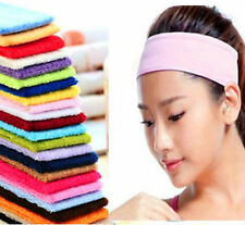 Sweatbands Sports Tennis Badminton GYM Headbands YOGA Sweatband Bands U