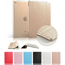 Slim Magnetic Leather Smart Cover For Apple iPad With Hard Back Case Smart /Wake