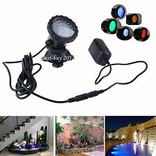 New 36 LED RGB Submersible Underwater Spot Light for Water Garden Pond Fish tank