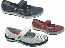 Ladies Leather Shoes Cherry List Full Leather Mary Jane Style Size 5-10