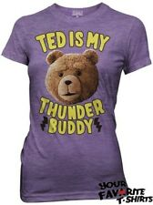 Ted The Movie Ted Is My Thunder Buddy Licensed Woman Junior T Shirt S-XL