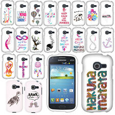 For Samsung Galaxy Discover Centura Art Design PATTERN HARD Case Phone Cover