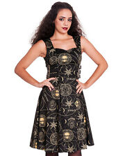 Spin Doctor Tabitha Black Magic Occult Witchcraft Symbol Gothic Steampunk Dress