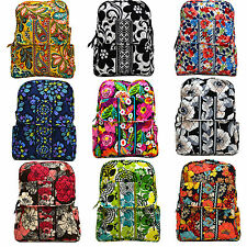 Vera Bradley Backpack School Small Bookbag Womens Purse Back Pack Book Bag W060+