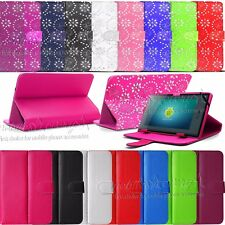 """New Universal Leather Stand Case Cover For 7"""" 7 Inch Tab Android Tablet PC"""