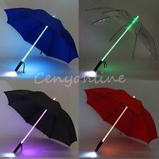 Cool Blade Runner Light LED Umbrella Flash Sun Night Protection Gift 4 Colors