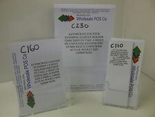 A4, A5 & DL LEAFLET HOLDERS COUNTER STANDING MENU FLYER DISPLAY STANDS