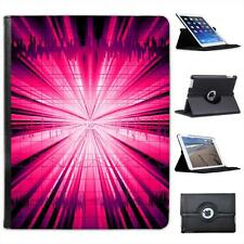 Pink Explosion Folio Wallet Leather Case For iPad 2, 3 & 4