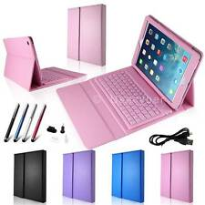 Stand PU Leather Case Cover with Bluetooth Keyboard for Apple iPad Air New #X