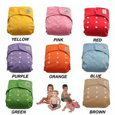 2014 New Reusable Baby Infant Washable Soft Cloth Diapers Nappy 7 Colors
