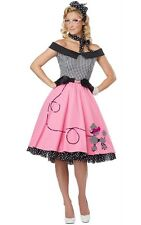 Sexy Nifty 50's Poodle Dress Skirt Adult Costume 01264
