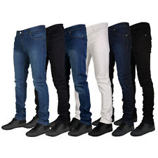 MENS G72 DENIM SUPER STRETCH SKINNY SLIM FIT JEANS ALL WAIST & LEG SIZES