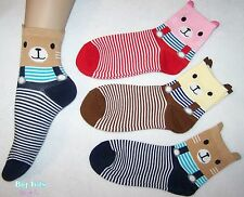 Adult Baby Teddy Socks .*Big Tots by MsL*