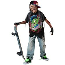 Zombie Sk8r Costume Kids Halloween Fancy Dress