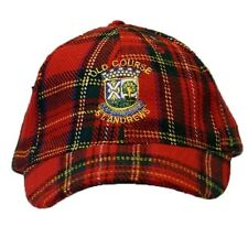 (Free PnP) Old Course St Andrews Mens Womens Royal Stewart Golf Baseball Cap