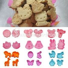 Cookie Fondant Cake Sugar Craft Chocolate Decorating Plunger Cutter Animal Mold