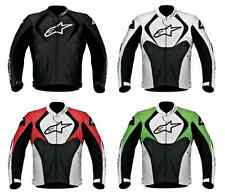 Alpinestars Jaws Perforated Leather Jacket All Sizes