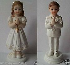 Religious Praying Boy Or Girl - Communion - Confirmation Cake Topper  12cm