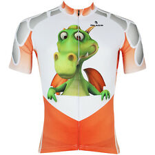 New Mens Cycling Jersey Rider Clothing Bicycle Bike Wear Cartoon Dragon S-3XL
