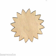Flower Unfinished Flat Wood Shape Cut Out Variety Sizes FS4749 Laser Crafts