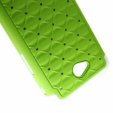 Diamond Bling Case for LG Optimus Exceed 2 Dual Layer Hybrid Phone Cover