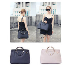 New Womens Simple Style Messenger Shoulder Bag Lady Tote Purses