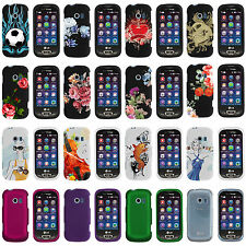 LG Extravert 2 II VN280 Rubberized Image Printed Fitted Snap On Case Cover