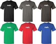 Meh T-shirt Funny Geek Shirt Cool Video Game Nerd Tee S-5XL