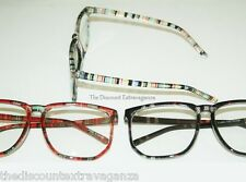 Square Eye Clear Lens Glasses _Stylish Slender Frame will fit some prescriptions