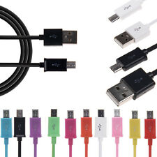 Universel Micro USB Data Sync Chargeur câble Pr Samsung LG Sony HTC Blackberry