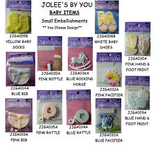 NEW BABY  *Your Choice Design* Bottle Bib Toys Nuk JOLEE'S Small Embellishments
