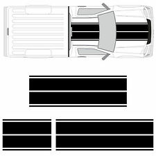 Chevy Colorado GMC Canyon Dual Rally Racing Stripes 3M Vinyl Double Stripe Decal