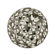 Piercing Replacement Ball, Multi Crystal Stones Black Diamond | 4, 5 and 6 mm