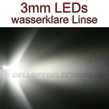 3mm LEDs WEISS 12000 mcd