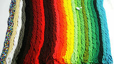 CZECH 11/0 OPAQUE SEED BEADS 43 COLORS TO CHOOSE FROM - NEW - 12 STRING HANKS