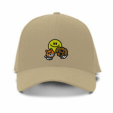SMILE FACE VETERINARIAN CAT DOG Embroidery Embroidered Adjustable Hat Cap