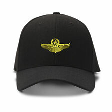 MILITARY COMMAND PILOT SYMBOL MILITARY Embroidery Embroidered Adjustable Hat Ca