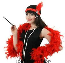 LADIES RED FLAPPER DRESS 1920S DRESSING UP FANCY DRESS FANCY DRESS COSTUME MOLL