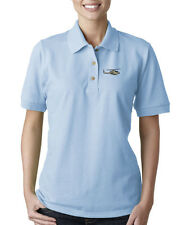 A H-1 J COBRA MILITARY Embroidery Embroidered Lady Woman Polo Shirt
