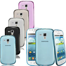 TPU Gel Silicone Case Cover Skin For Samsung Galaxy S Duos S7562/Trend S7560