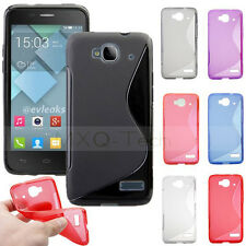 S Line TPU Gel Silicone Case Cover For Alcatel One Touch Idol Mini OT 6012D/X/A