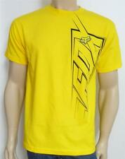 Fox Racing Bigtime Tee Mens Yellow Graphic T-Shirt New NWT