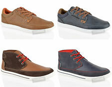 MENS BOYS LAMBRETTA CASUAL LACE UP CHUKKA SMART SHOES TRAINERS ANKLE BOOTS SIZE