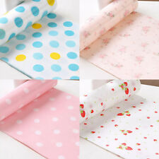Dot Rose Printed House Wall Drawer Bureau Desk Table Anti-slip Waterproof Paper