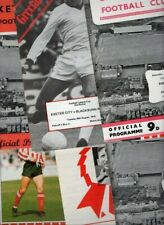 Exeter City HOME programmes mainly 1960s and 1970s FREE P&P UK Choose from list
