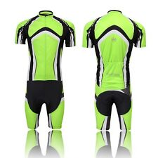 Cycling Bike Short Sleeve Clothing Bicycle Set Suit Jersey + (Bib) Shorts S-3XL