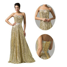 2014 Prom Ball Gown Long Dress Formal Evening Pageant Banquet Cocktail Dresses