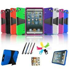 Military Duty Tuff Hard Touch Stand Case Cover For iPad mini w/ Retina Display