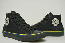 PF Flyers Center Hi Reiss Black Charcoal Shoes PM11CH3E Mens 4~7.5 Womens 5.5~9